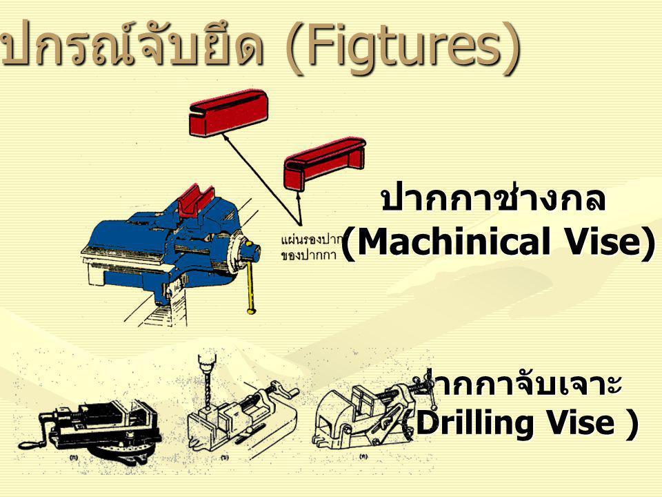 อุปกรณ์จับยึด (Figtures) ปากกาช่างกล (Machinical Vise) ปากกาจับเจาะ (Drilling Vise ) (Drilling Vise )