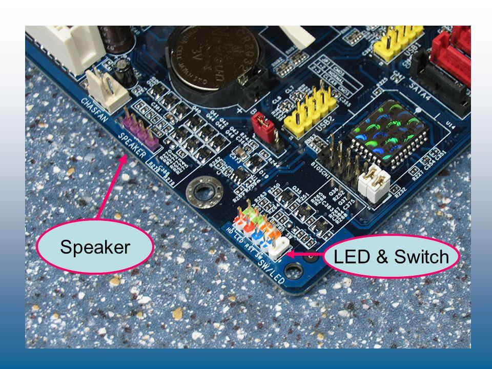 Speaker LED & Switch