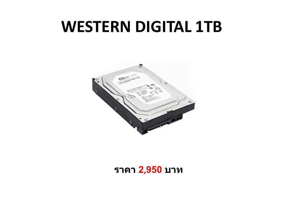 WESTERN DIGITAL 1TB ราคา 2,950 บาท