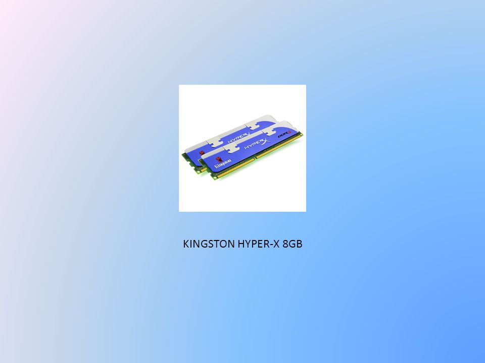 KINGSTON HYPER-X 8GB