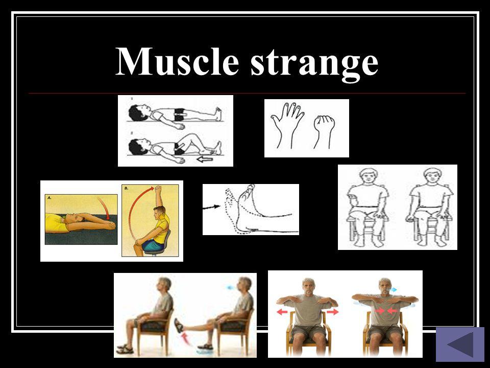 Muscle strange