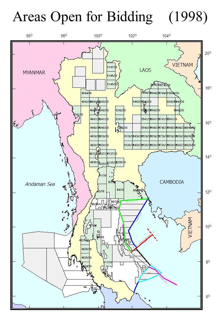 Petroleum Fields in Thailand