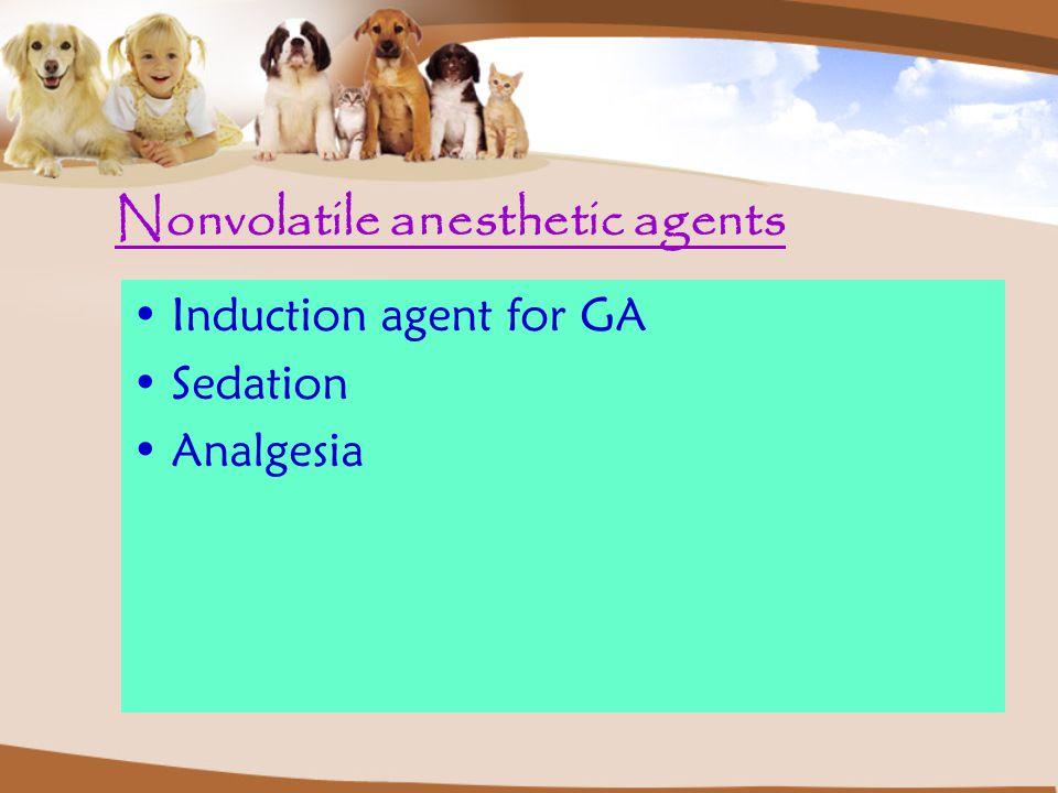 ผู้ป่วยหญิง ไม่มีโรค ประจำตัวใด มารับการส่อง กล้อง ควรใช้ยาตัวใดใน การระงับความรู้สึก 1.Propofol 2.Ketamine 3.Thiopental