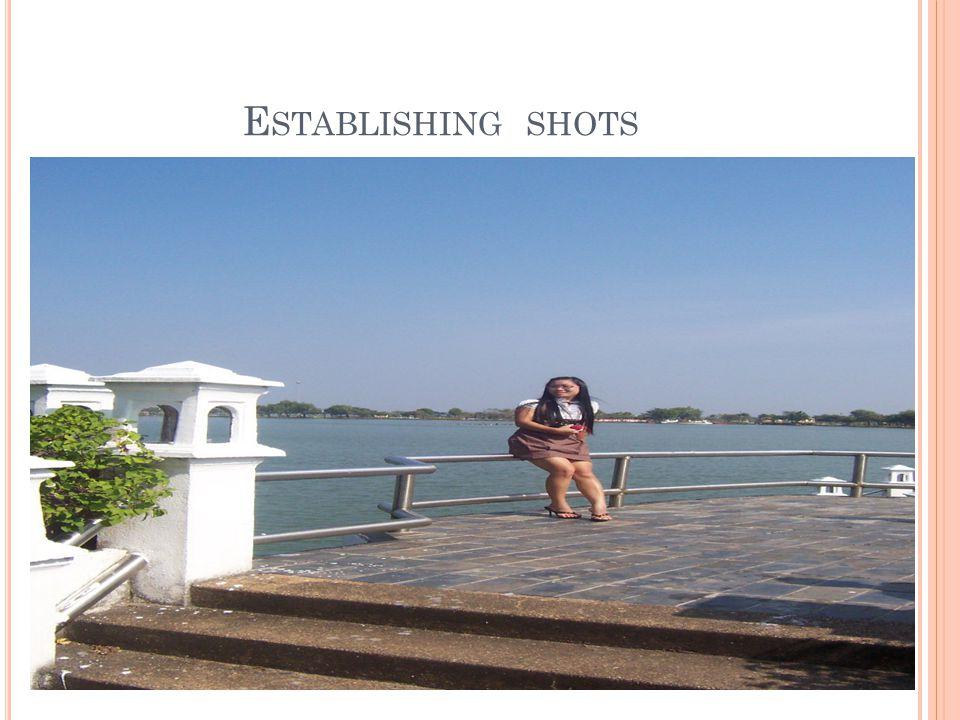 E STABLISHING SHOTS