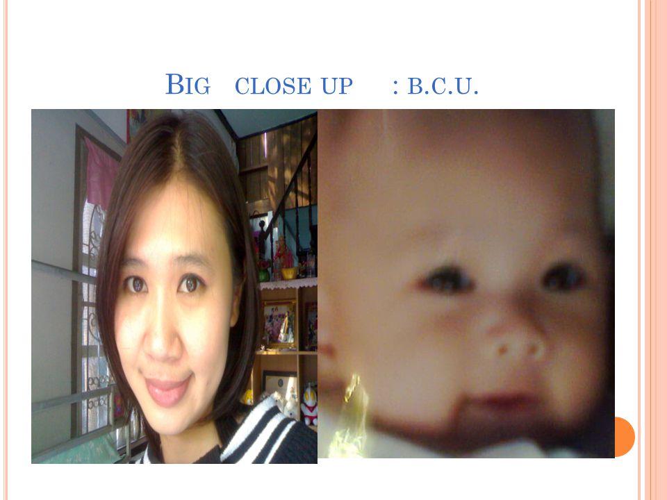B IG CLOSE UP : B. C. U.