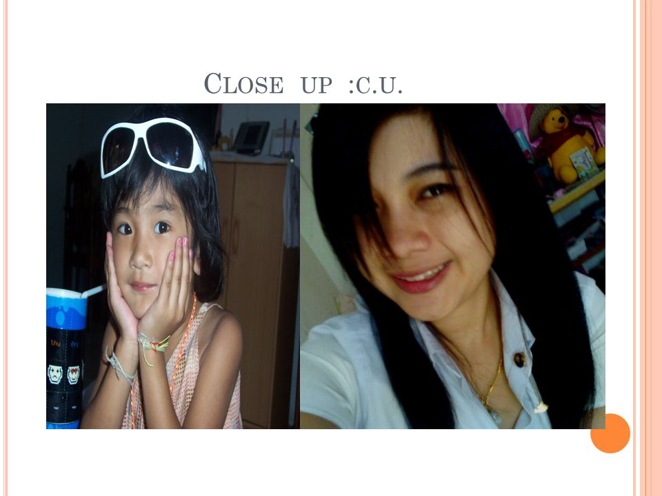 C LOSE UP : C. U.