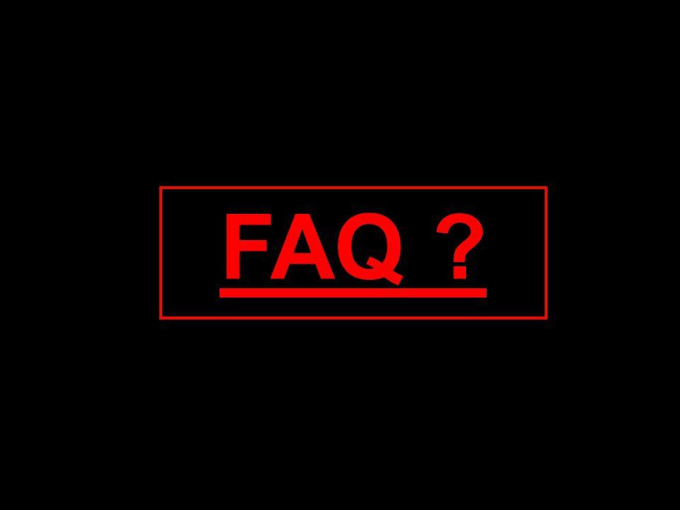 FAQ ?