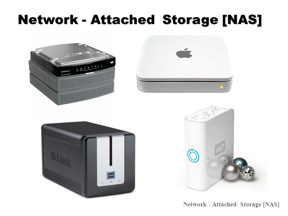Support HDD Network - Attached Storage [NAS]
