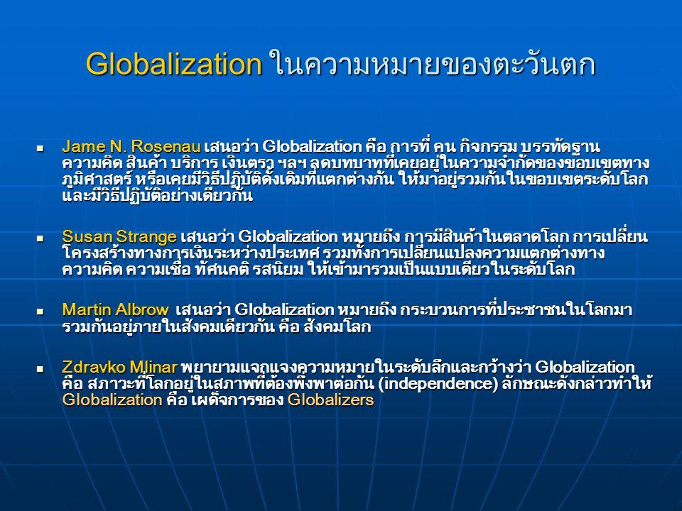 ความหมายของโลกาภิวัตน์ 1. ชุดของคำที่มีความหมายเดียวกัน 1. ชุดของคำที่มีความหมายเดียวกัน ได้แก่ คำว่า โลกยุคคลื่นลูกที่สาม ยุคแห่งการปฏิวัติข้อมูลข่าว