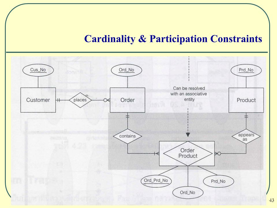43 Cardinality & Participation Constraints