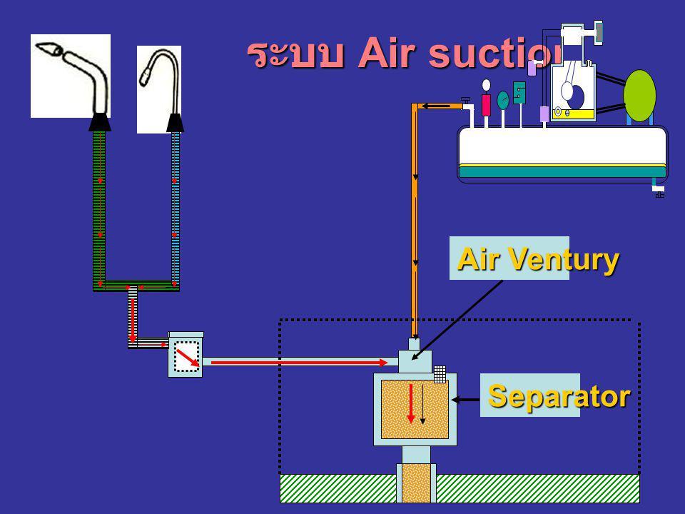 ระบบ Air suction Air Ventury Separator