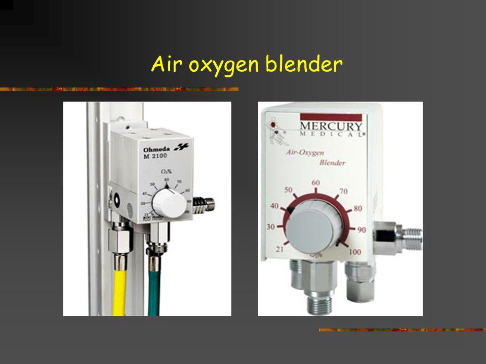 Air oxygen blender
