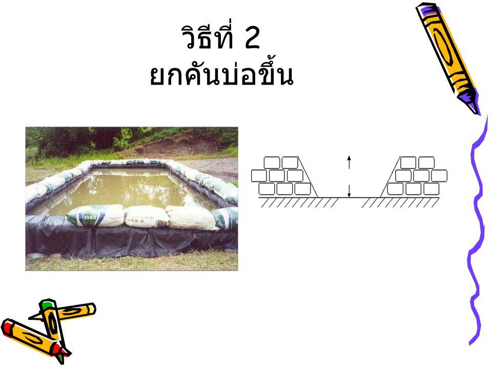 การสร้างบ่อ
