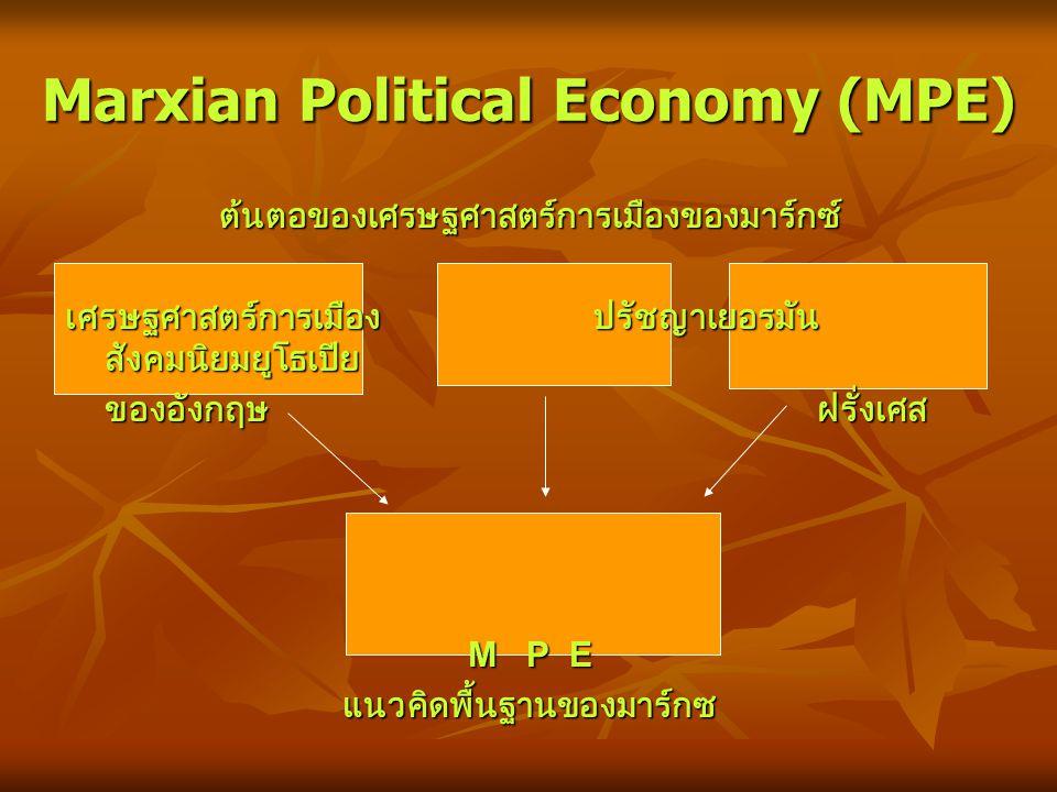 ความหลากหลายของสำนักคิด เศรษฐศาสตร์การเมือง ในบรรดาแนวคิดต่าง ๆ ของเศรษฐศาสตร์ทางเลือก เศรษฐศาสตร์การเมือง เป็นสำนักคิดที่ค่อนข้าง ได้รับความนิยมมากที