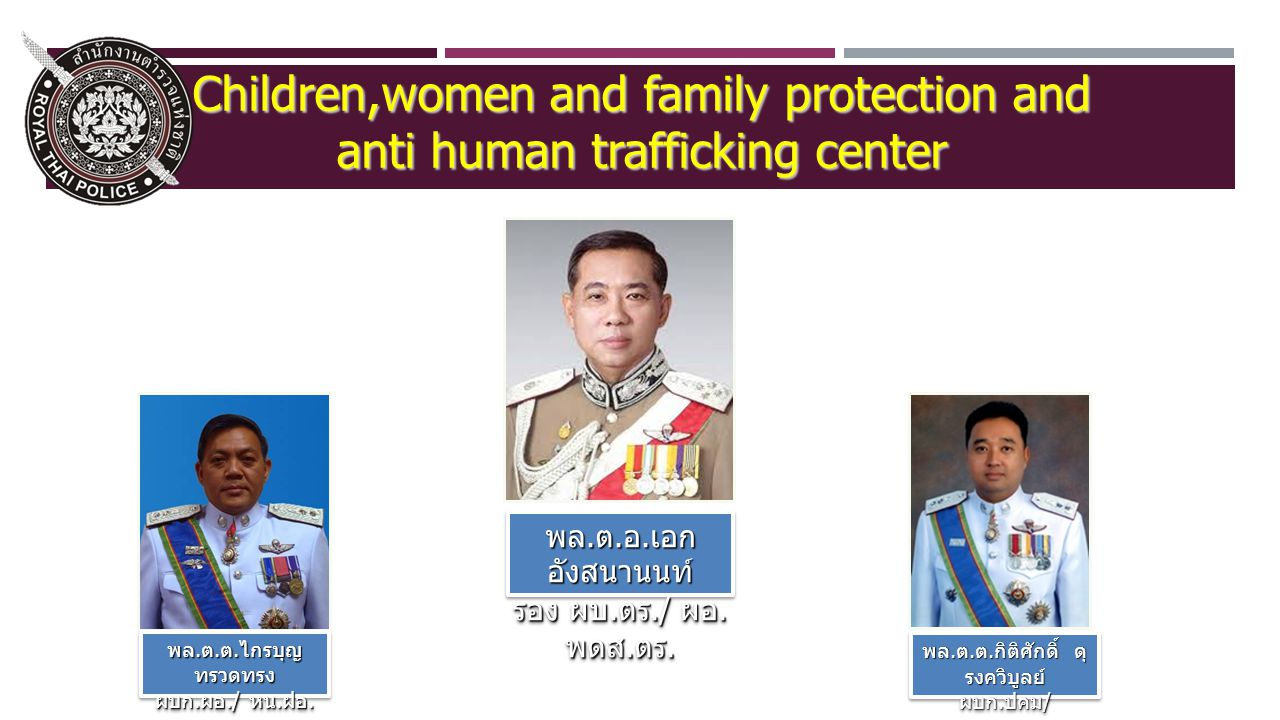 13 Integrate with related sectors to prevent victim and vulnerable ones for trafficking.