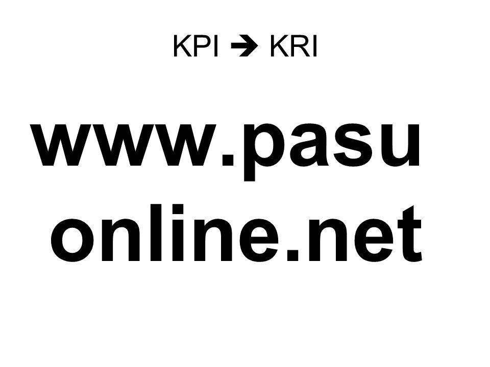 KPI  KRI www.pasu online.net