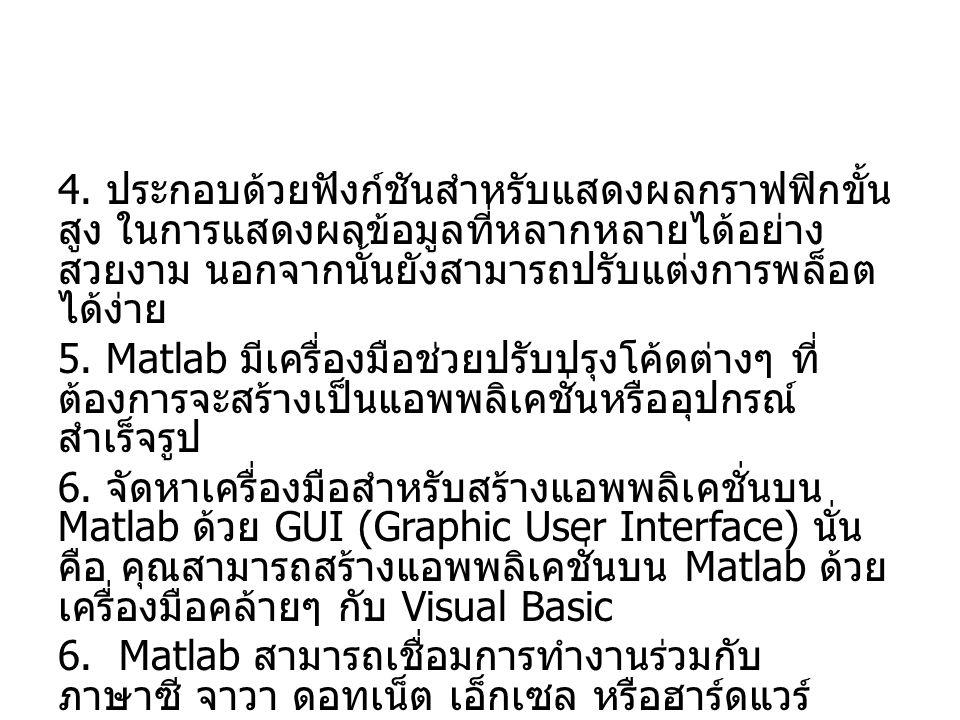 Matlab Language Structure