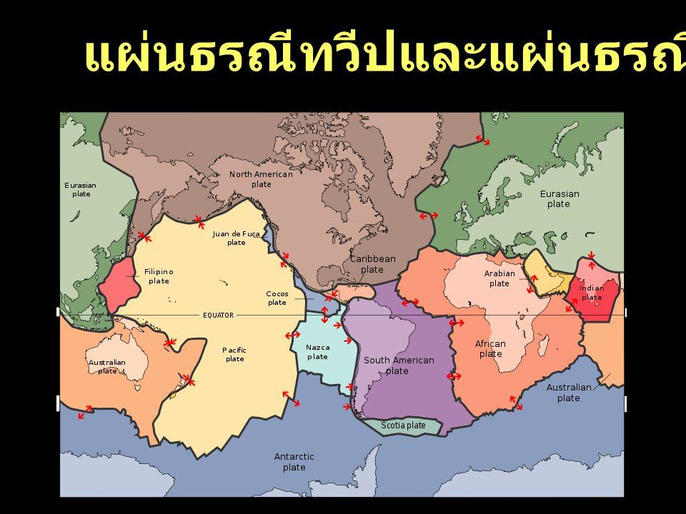 31 แผ่นธรณีทวีปและแผ่นธรณีมหาสมุทร