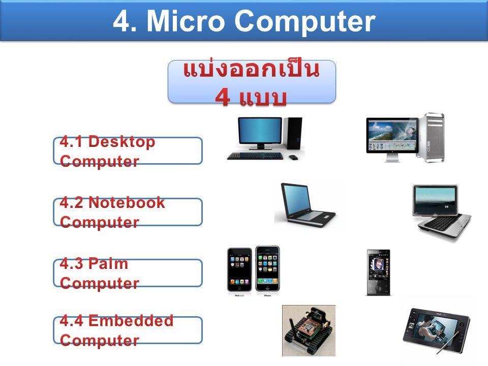 4. Micro Computer