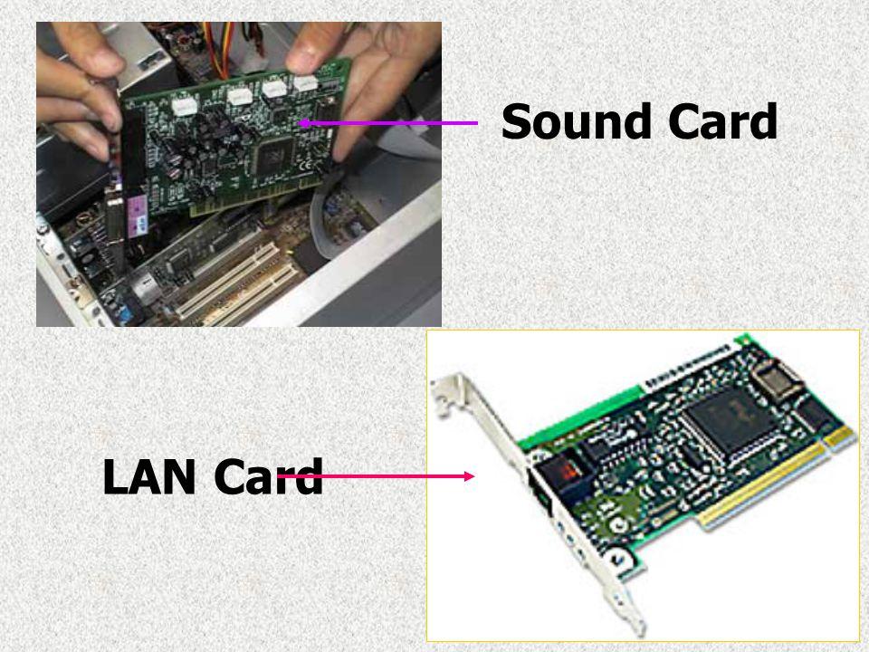 Sound Card LAN Card