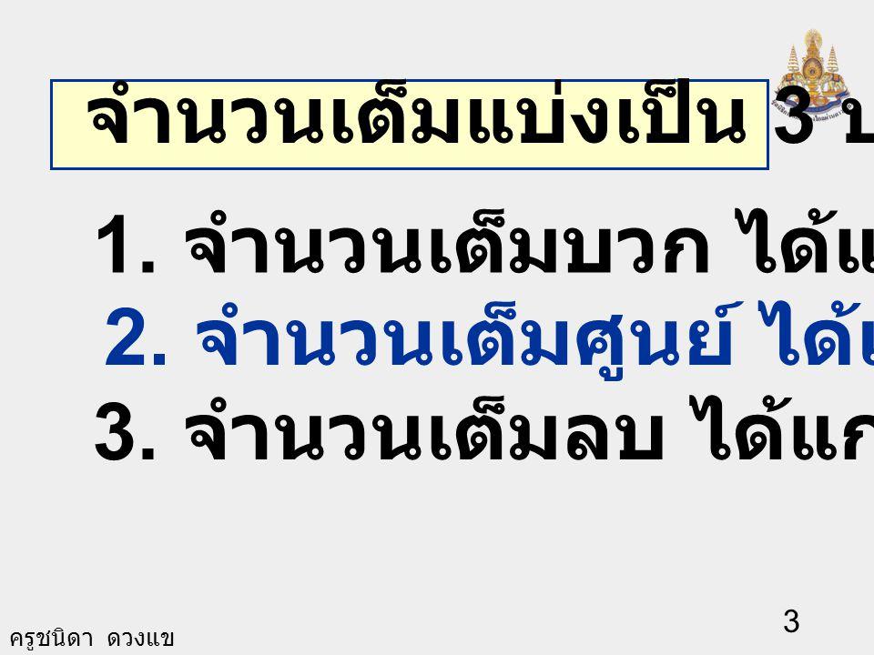 2 จำนวนจริง จำนวนอตรรกยะจำนวนตรรกยะ เศษส่วนจำนวนเต็ม จำนวนเต็มบวกจำนวนเต็มลบศูนย์