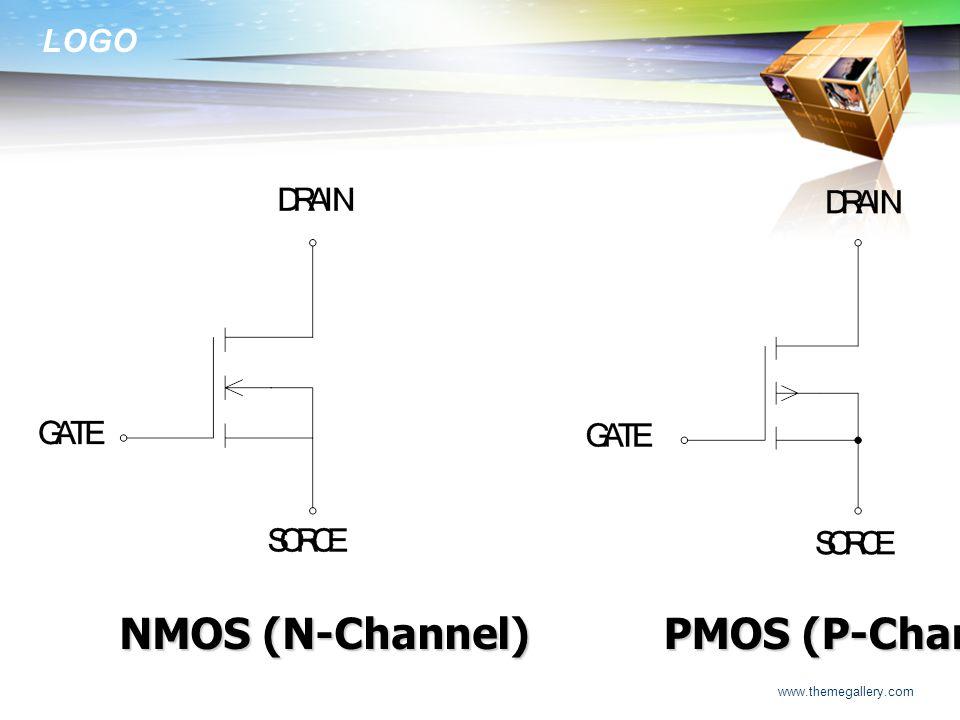 LOGO www.themegallery.com NMOS (N-Channel) PMOS (P-Channel)