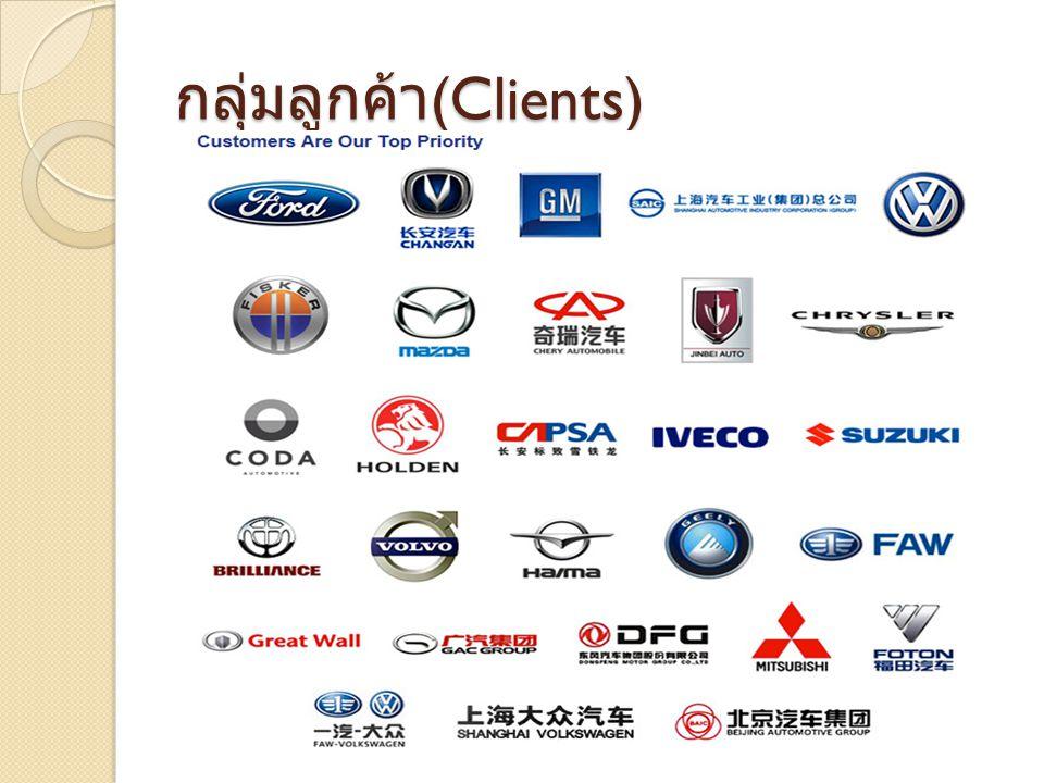 กลุ่มลูกค้า (Clients)