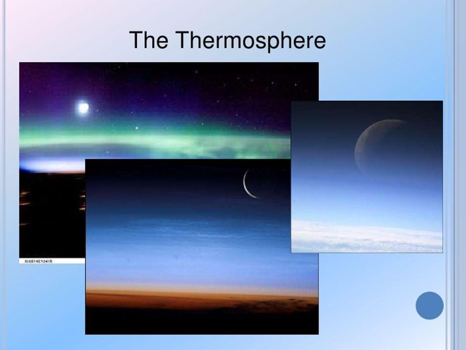 เป็นชั้นที่สามของชั้นบรรยากาศโลก. Mesosphere อุณหภูมิจะเพิ่มขึ้นตามความสูงจากผิว โลก ( คล้ายกับชั้นสตราโทสเฟียร์ )
