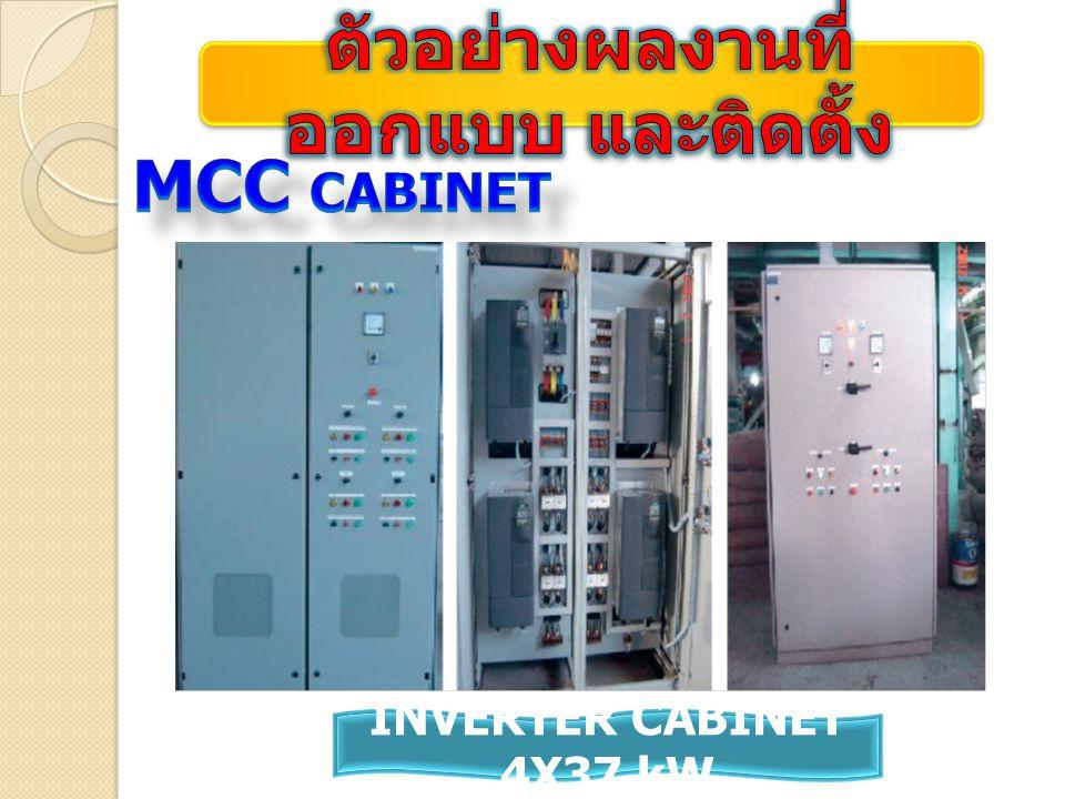 INVERTER CABINET 4X37 kW
