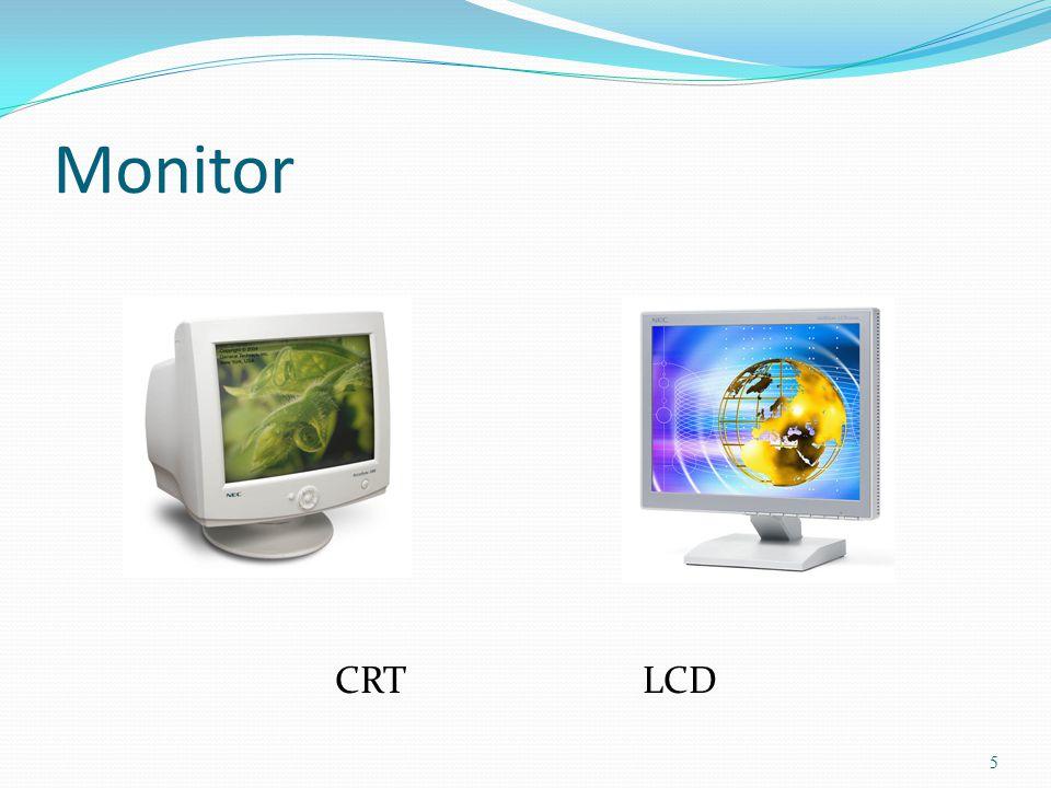 5 Monitor CRT LCD