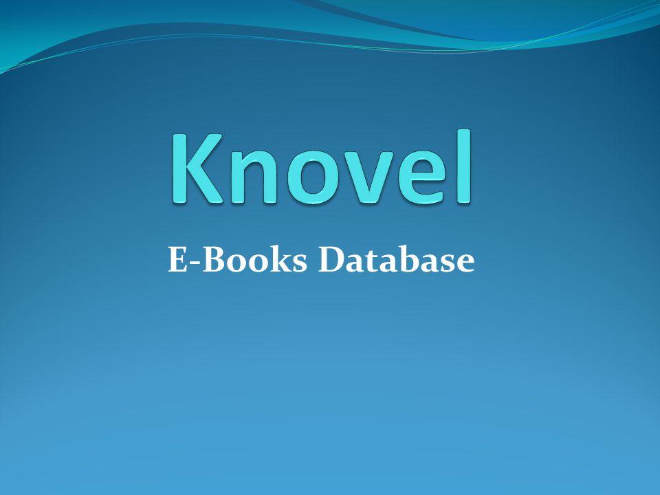 รายละเอียดฐานข้อมูล Knovel เป็นฐานข้อมูลหนังสืออิเล็กทรอนิกส์ เนื้อหา ครอบคลุมสาขาวิชาวิศวกรรมศาสตร์ เคมี ชีวเคมี ชีววิทยา เทคโนโลยีชีวภาพ วิทยาศาสตร์การอาหาร เภสัชและ เครื่องสำอาง ครอบคลุมปีพิมพ์ 1974- ปัจจุบัน ให้รายละเอียดบรรณานุกรมพร้อมเอกสารฉบับเต็ม (Full Text) ทั้งนี้สามารถดูเอกสารฉบับเต็มได้เฉพาะรายการที่ สำนักหอสมุดบอกรับตัวเล่มหนังสือทั้งหมด 15 รายชื่อ