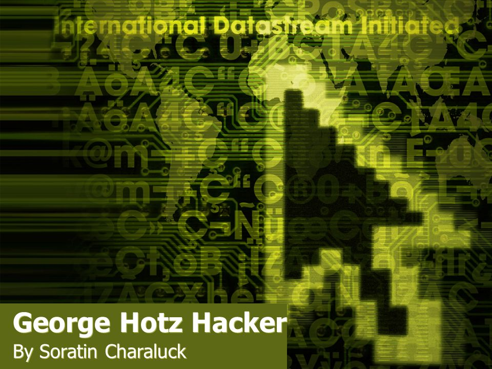 George Hotz Hacker By Soratin Charaluck