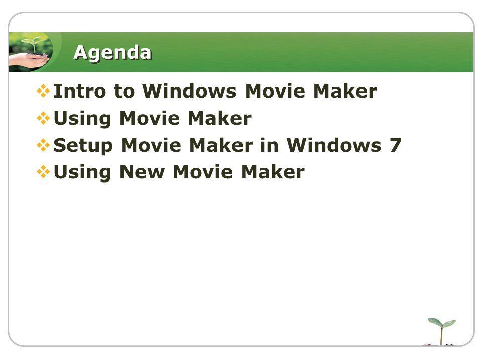 Intro to Windows Movie Maker  สามารถทำไฟล์วีดีโออย่าง ง่ายได้  ง่ายต่อการใช้งาน  ฟรี