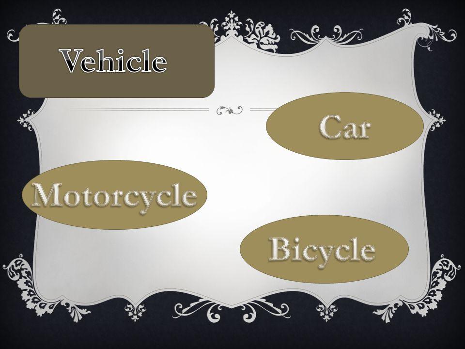 รถยนต์  มี 5 ประเภท - รถยนต์นั่ง - รถยนต์สมรรถนะสูง - รถยนต์เอนกประสงค์ MPV - รถยนต์เอนกประสงค์สมรรถนะสูง - รถกระบะ