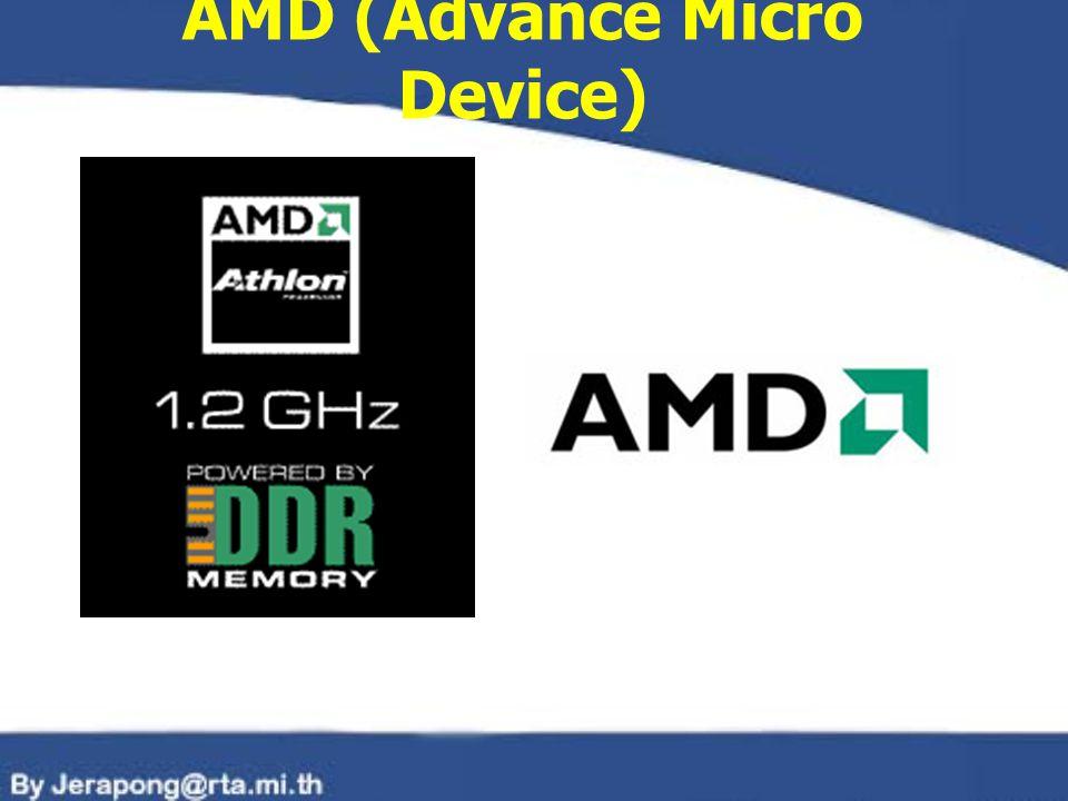 AMD (Advance Micro Device)
