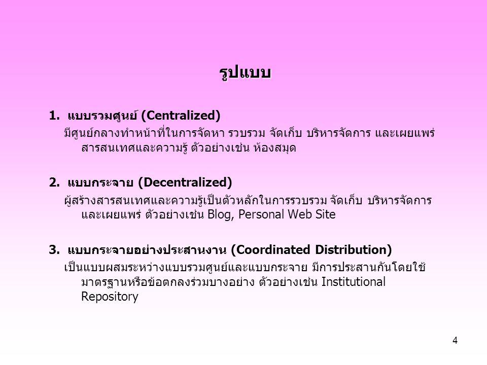25 ภาษาธรรมชาติ (natural language) ข้อดี คำศัพท์ที่ใช้มีความใหม่ ทันพัฒนาการของเรื่องนั้นๆ อยู่เสมอ ผู้ใช้มักจดจำศัพท์ตามภาษาธรรมชาติได้ดีกว่าศัพท์ที่ถูกจัดรูปใหม่ตาม วิธีการของคำศัพท์ควบคุม สามารถใช้คอมพิวเตอร์สร้างได้ ข้อเสีย กรณีเรื่องเดียวกัน แต่ผู้แต่งใช้ศัพท์ต่างกัน ทำให้ผู้ใช้ต้องสืบค้นภายใต้คำ ที่แตกต่างกันเหล่านั้นทุกๆ คำ เพื่อให้ได้ข้อมูลที่ต้องการครบถ้วน คำศัพท์ที่สะกดเหมือนกัน อาจมีความหมายต่างกัน เมื่อผู้ใช้สืบค้นแต่ละ ครั้ง เรื่องที่ไม่ต้องการจึงอาจปรากฏออกมาด้วย คำศัพท์ที่มีความหมายเดียวกัน แต่สามารถสะกดได้หลายแบบ ทำให้ ผู้ใช้ต้องสืบค้นหลายครั้งเช่นกัน แนวคิดที่แฝงอยู่ในเนื้อหา จะไม่ปรากฏเป็นคำศัพท์ ทำให้ผู้ใช้พลาดโอกาส ในการเข้าถึงเรื่องนั้น ผู้ใช้ไม่เห็นความสัมพันธ์ของคำศัพท์ในบัญชีคำศัพท์รูปแบบนี้