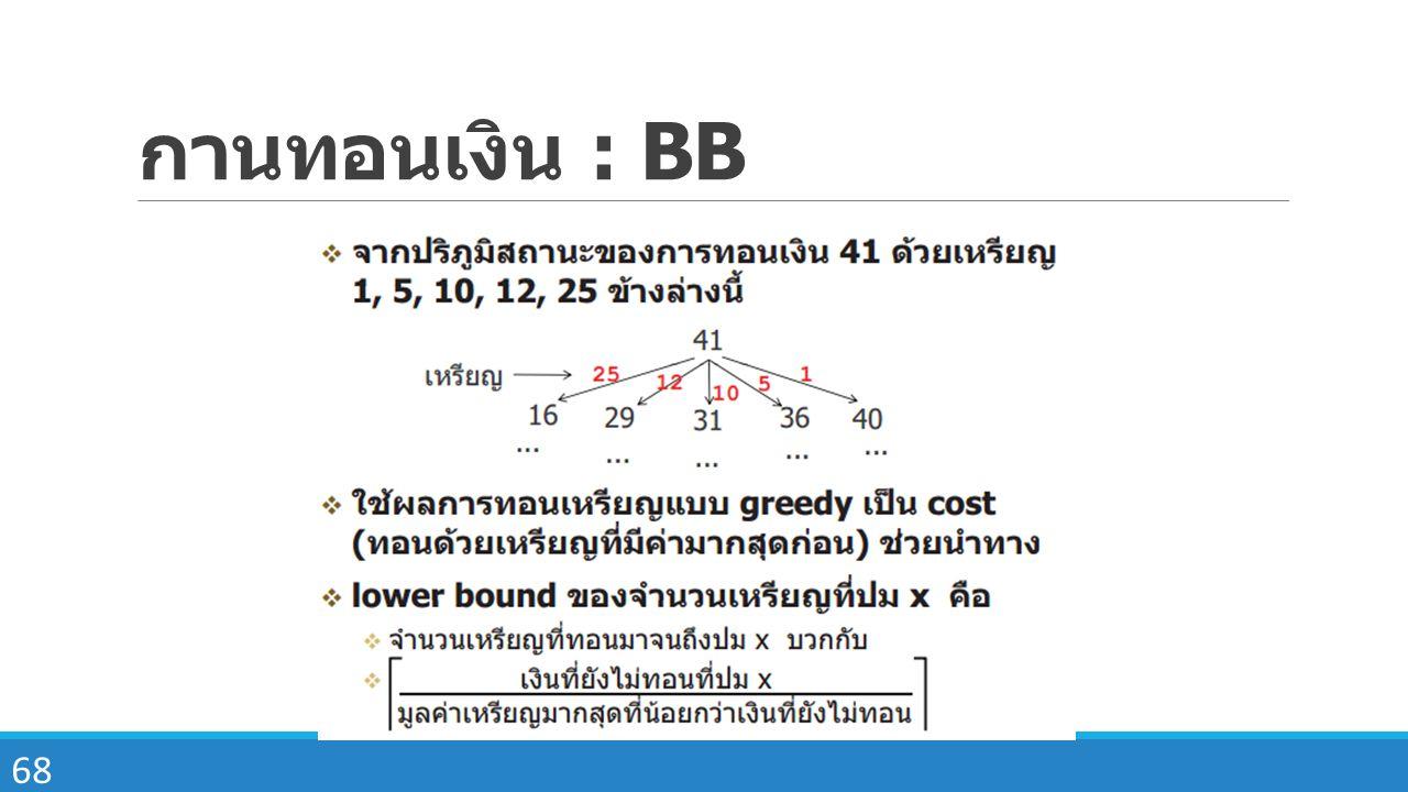 68 กานทอนเงิน : BB