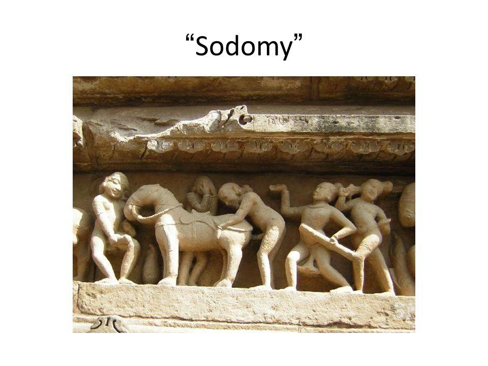 """""""Sodomy"""""""