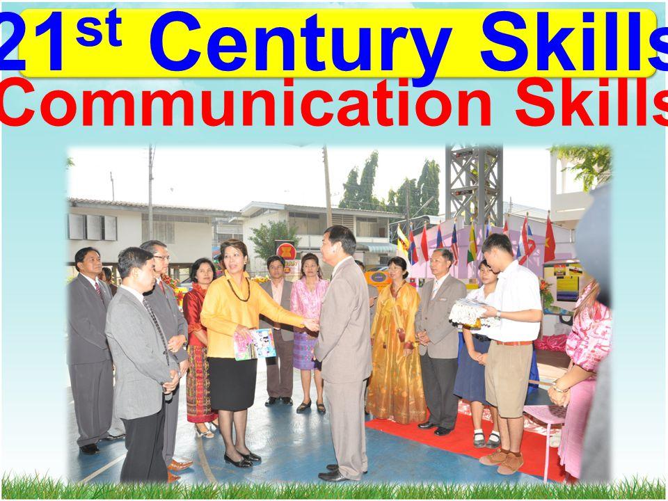 21 st Century Skills Communication Skills