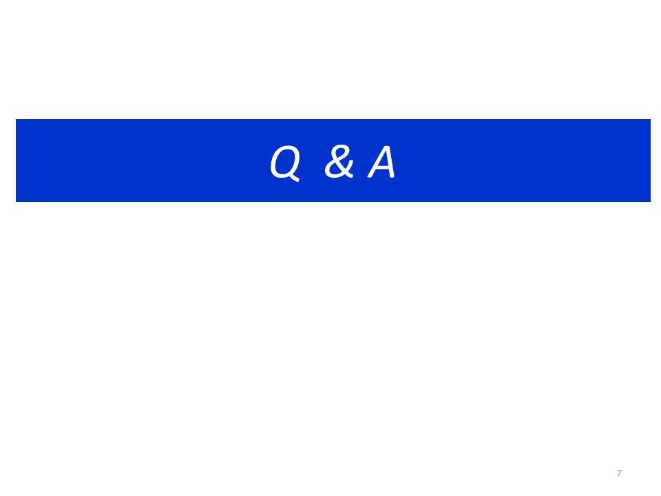 Q & A 7