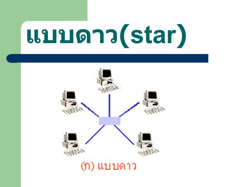แบบดาว (star)