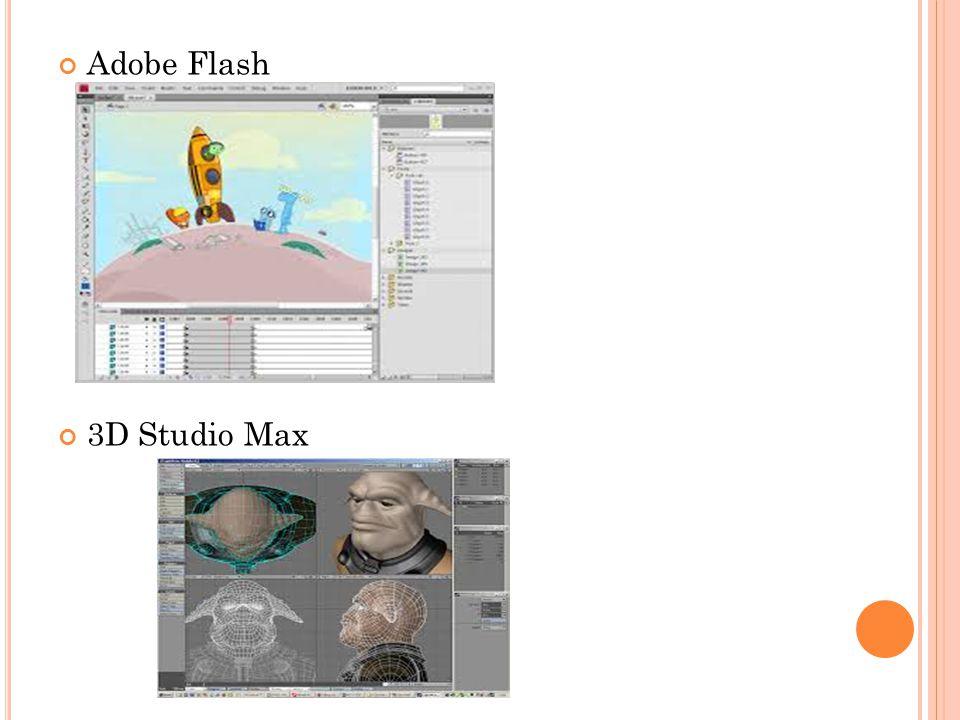Adobe Flash 3D Studio Max