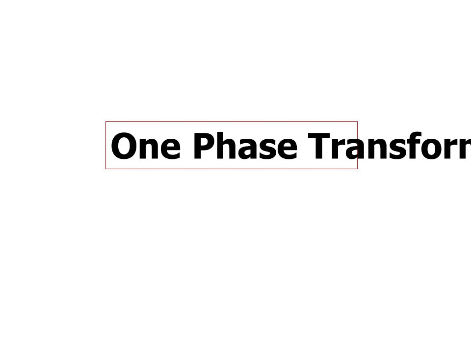 Transfor mer Conne ction Primary and Secondary Voltage Phase Relation Phas e Shi ft* Windings Placed on the Same Leg Wye- Wye V AN is in phase with V an ZeroA and a Wye- Delta V AN is in phase with V ab 30°A and ab Delta- Wye V AB is in phase with V an –30°AB and a Delta- Delta V AB is in phase with V ab ZeroAB and ab * Note:Phase shift lead between line-to- line voltages, V AB and V ab, and line-to- neutral voltages, V AN and V an, and line currents, I A and I a.