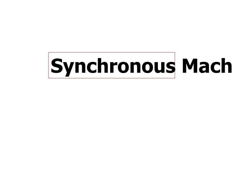 Synchronous Machine