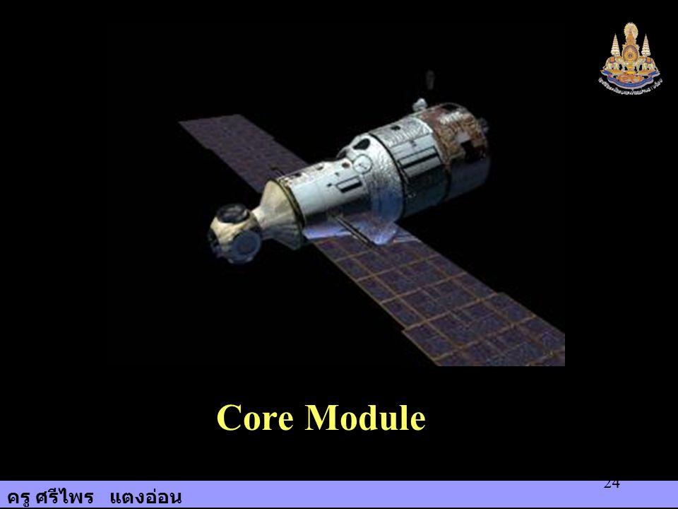 ครู ศรีไพร แตงอ่อน 24 Core Module