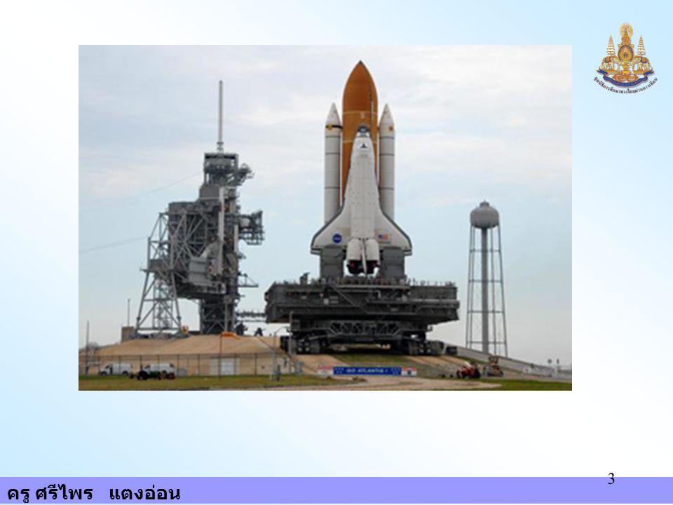 ครู ศรีไพร แตงอ่อน 94 4. โครงการสกายแล็บ 5. โครงการอพอลโล - โซยุส 6. โครงการขนส่งอวกาศ