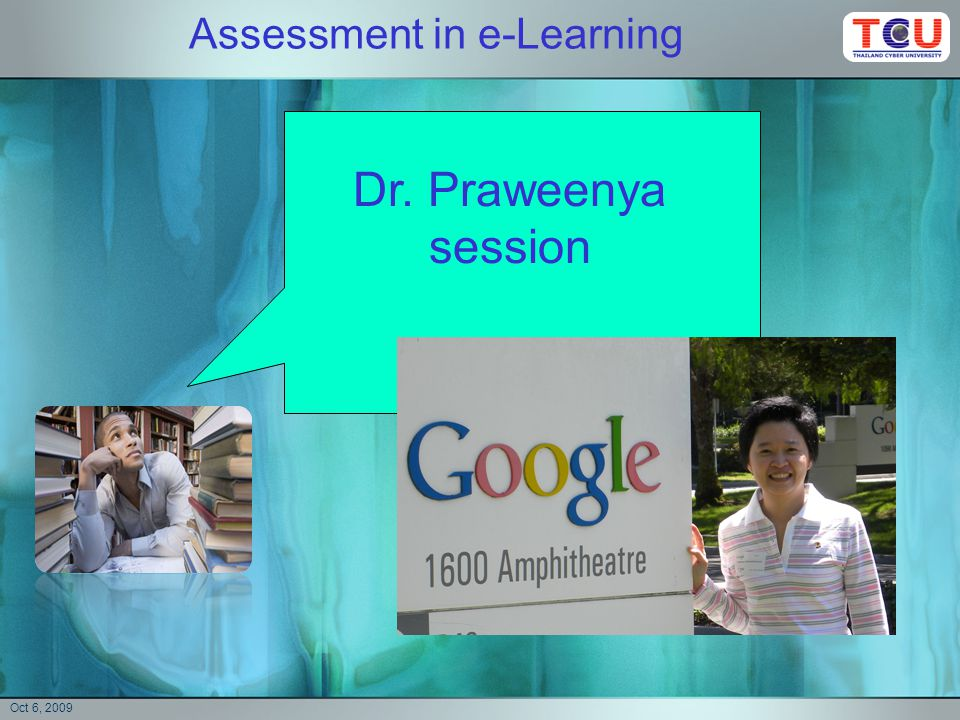 Assessment in e-Learning Can we assess How can we do it