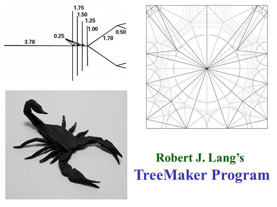 Robert J. Lang's TreeMaker Program