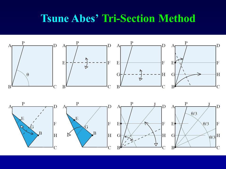 Tsune Abes' Tri-Section Method