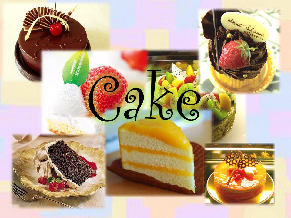เค้ก (cake) เป็นอาหารชนิดหนึ่งที่มักจะมีลักษณะหวาน และผ่านกระบวนการอบ ซึ่งจะทำมาจากแป้ง, น้ำตาล และ ส่วนประกอบอื่นๆ เช่น ไข่, แป้งสาลี, ผัก, ผลไม้ที่ให้รส หวานหรือเปรี้ยว เป็นต้น หรือส่วนประกอบที่มีไขมัน เช่น เนย, ชีส, ยีสต์, นม, เนยเทียม เป็นต้น และนิยม รับประทานเป็นของหวานและฉลองในเทศกาลต่าง โดยเฉพาะอย่างยิ่งในวันเกิดและวันแต่งงาน ซึ่งในโลกมี ตำรับหรือสูตรการทำเค้กเป็นจำนวนมาก อีกทั้งตำรับการทำ เค้กบางสูตรก็มีการสืบทอดการทำเป็นเวลาหลายศตวรรษ และเค้กนั้นยังเป็นอาหารหวานที่นิยมไปทั่วโลกอีกด้วย ปัจจุบันมีผู้สนใจที่อยากจะเรียนทำเค้กเพื่อจุดประสงค์ต่างๆ มากมาย อย่างเช่น เรียนเพื่อที่จะนำมาประกอบอาชีพเปิดร้าน เค้ก เป็นต้น ความหมาย